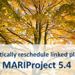 MARIProject rescheduling hours